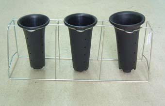 寒蘭専用 蘭掛け 4.5-5.5号用 3個掛け 寒蘭 掛