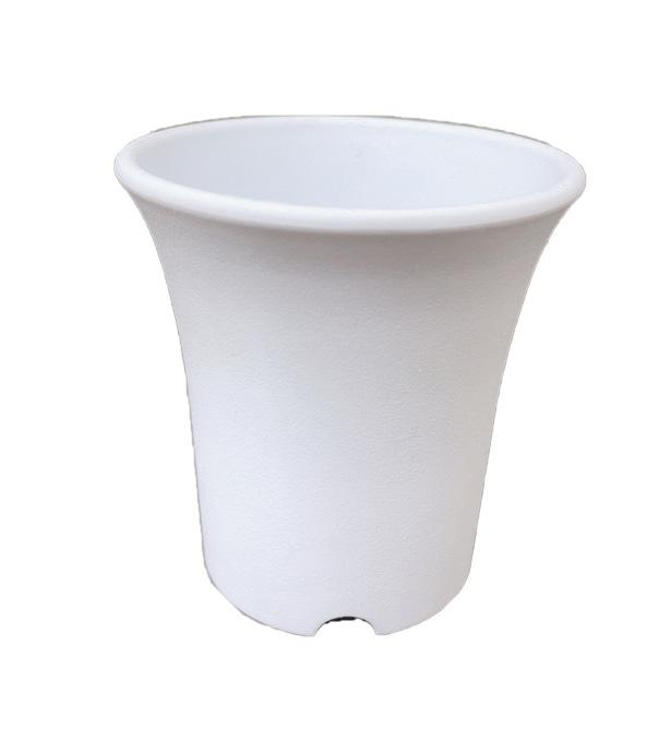 ミニ蘭鉢 白(ホワイト) プラ鉢 2.5号 300個 ミニラン鉢