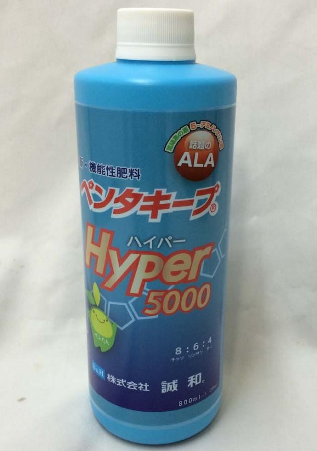 【送料無料】 ペンタキープ Hyper5000 12.6kg (1.05kgx12本)  ALA 配合