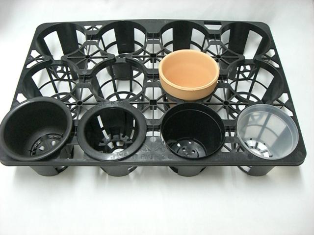 トレー 12穴 PMT-12 黒 プラスチックトレイ