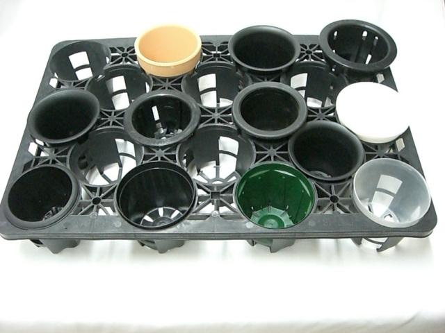 トレー 18穴 PMT-18 黒 プラスチックトレイ