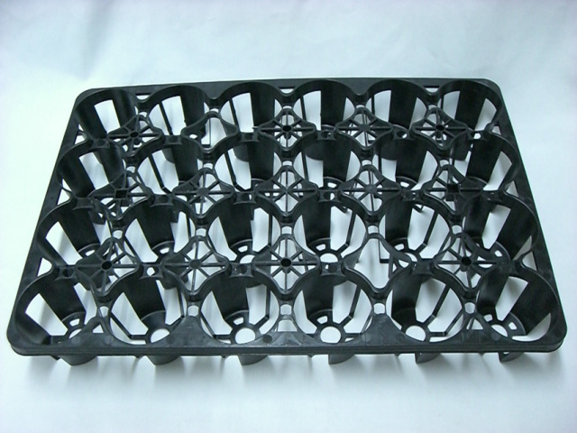 トレー 24穴 PMT-24 黒 プラスチックトレイ