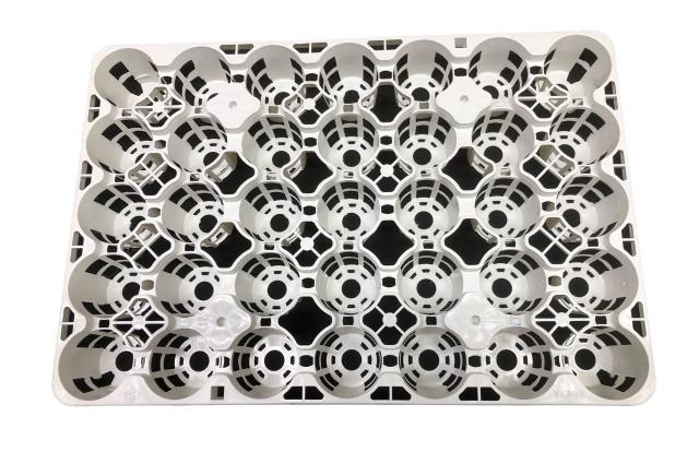 トレー 35穴 PMT-35 白(ホワイト) プラスチックトレイ
