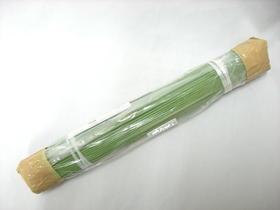 グリーン鉄線 2.6mm 60cm 500本 蘭支柱 洋蘭 カトレア 胡蝶蘭