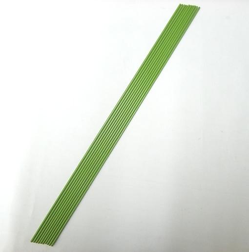 グリーン鉄線 2.6mm 45cm 10本 蘭支柱 洋蘭 カトレア 胡蝶蘭