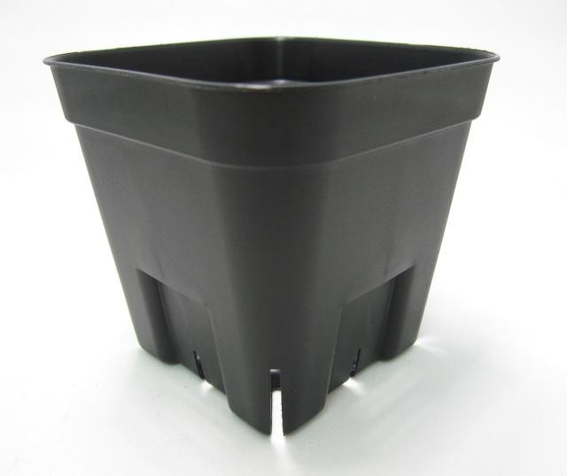 プレステラ 通常型 黒 90 スリット入りプラ鉢 1200個セット