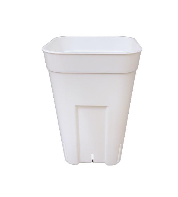 プレステラ深鉢 白(ホワイト) 120 スリット入りプラ鉢 100個