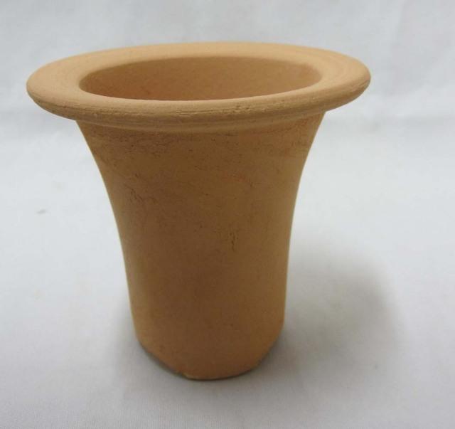 ロクロ成型 ラッパ鉢 3.0号 富貴蘭 1枚