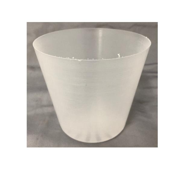 半透明 プラ鉢 10.5cm 10個