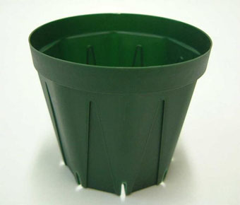 スリット鉢 プラ鉢 10.5cm 3.5号 10個