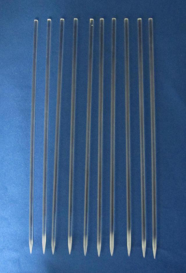 アクリルスティック 富貴蘭用 葉すれ防止 200本 / ネコポス便可