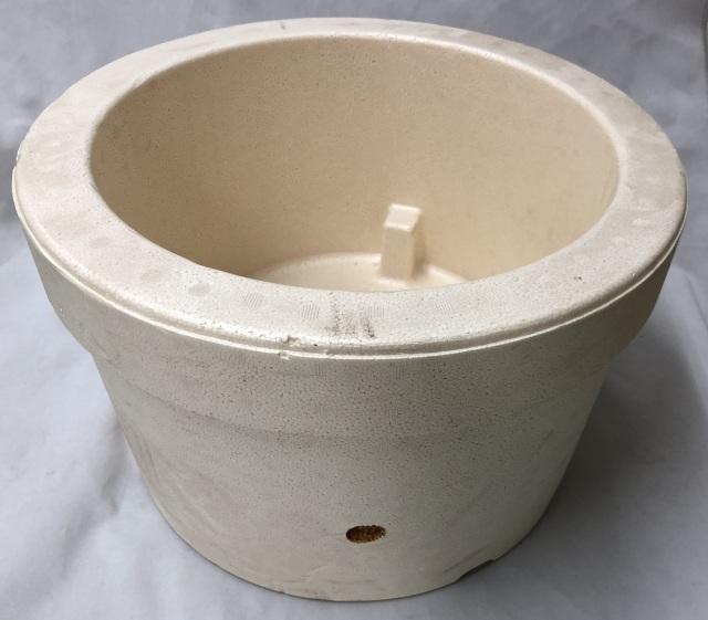 発泡スチロール鉢 13号 水冷鉢 断熱鉢 アツモリソウ シラネアオイ