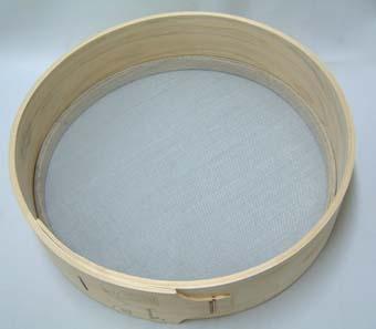 木製 フルイ 網目1.0mm 万能フルイ 35cm 園芸用