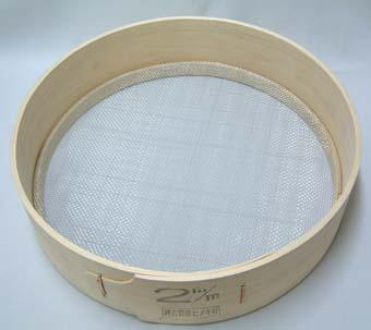 木製 フルイ 網目2.0mm 万能フルイ 35cm 園芸用