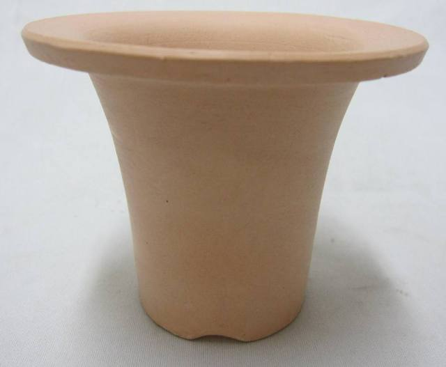 素焼き養成ラッパ鉢 3.3号 富貴蘭 12枚セット
