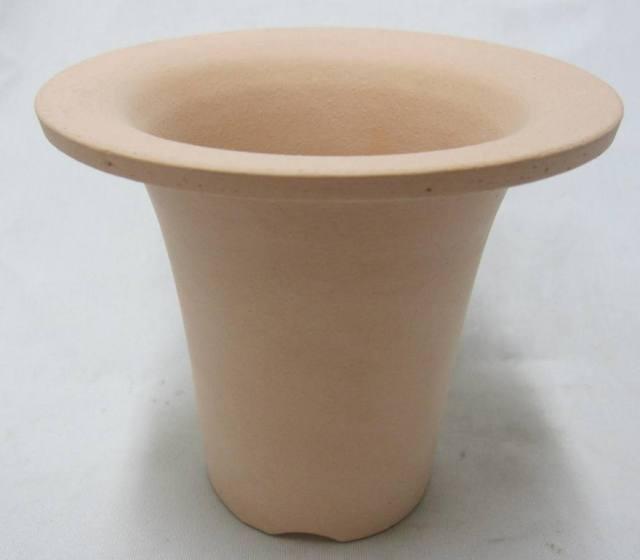 素焼き養成ラッパ鉢 3.8号 富貴蘭 12枚セット