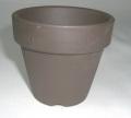 黒鉢 硬質素焼き鉢 仕立鉢 2.5号 150枚セット 水草 ジュエルオーキッドなどに