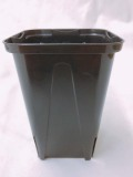 EGスリット鉢  7.5cm 黒 ロングタイプ 10個セット EG-75L