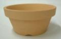 素焼き鉢 浅鉢(平鉢)ロクロ造り 4.0号 10枚