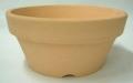 素焼き鉢 ロクロ造り 浅鉢(平鉢) 6.0号 6枚