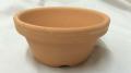 素焼き鉢 ロクロ造り 浅鉢(平鉢) 5.0号 10枚