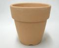 乾く素焼き鉢 3.5号 ロングタイプ B深型 10枚セット 大穴 洋蘭 カトレア