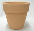 乾く素焼き鉢 5.5号 ロングタイプ B深型 1枚 大穴 洋蘭 カトレア