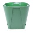 EGスリット鉢 12cm モスグリーン 100個セット プラ鉢 富貴蘭 長生蘭 EG120