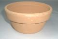 素焼き鉢 皿鉢 4号
