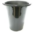 洋蘭プラ鉢 7.0号 50個 黒ラン鉢 プラ鉢 21cm 薔薇 苗 深鉢