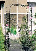 日本製 スライドフラワーアーチ バラアーチ 薔薇アーチ 高さ210cm