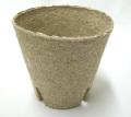 ジフィーポット 8cm 10個セット 穴あり 種まき 挿し芽 Jiffy