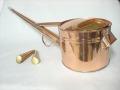 銅製の如雨露(ジョウロ) 竿短 4号