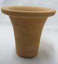 ロクロ成型 ラッパ鉢 3.5号 富貴蘭 1枚