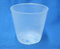 半透明 プラ鉢 7.5cm 10個