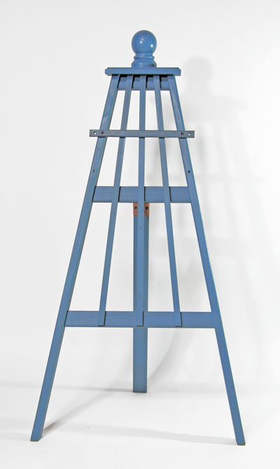 ハンギングスタンド イーゼルタイプ 「ロッド3」サイズM(高さ90cm、幅48cm、奥行き44cm)