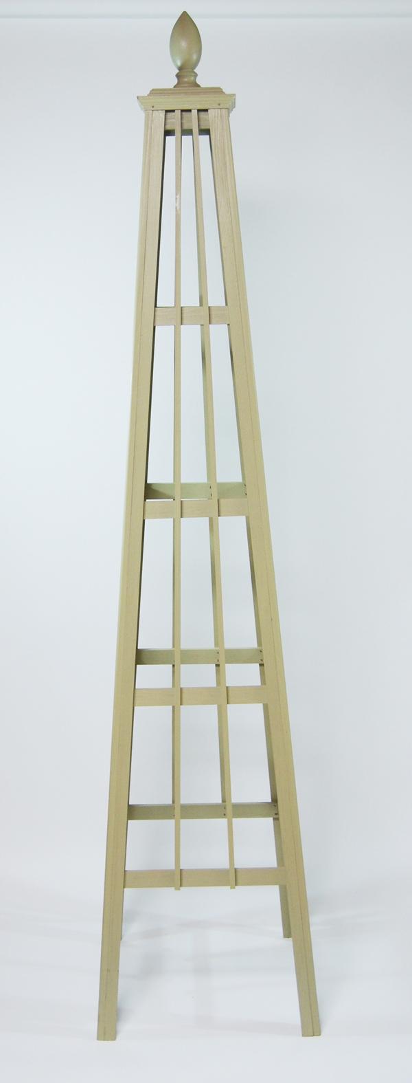 オベリスク ピラミッドタイプ 「シンプルロッド2」サイズ:L(高さ192cm、幅43cm、奥行き43cm)