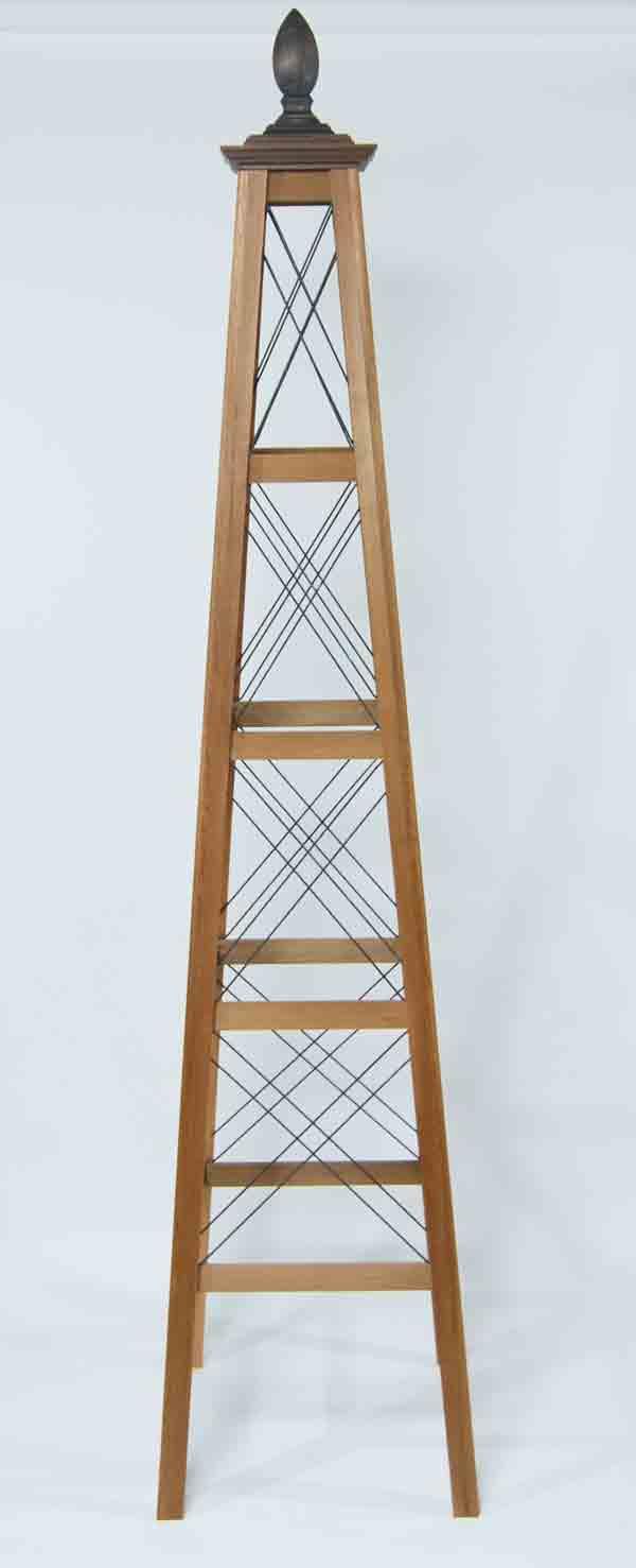 オベリスク ピラミッドタイプ ワイヤードWX」サイズ:L(高さ192cm、幅43cm、奥行き43cm)