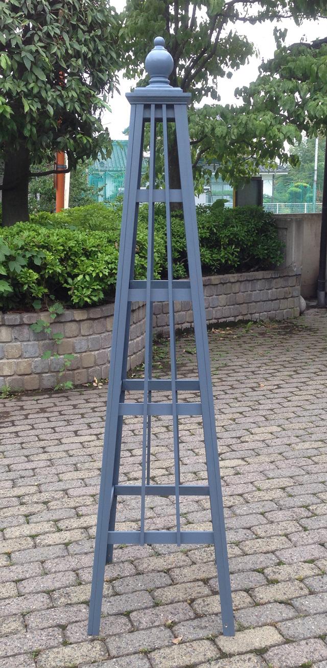 オベリスク ピラミッドタイプ  「シンプルロッド2」サイズ:WM(高さ168cm、幅43cm、奥行き43cm)