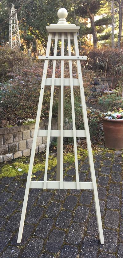 ハンギングスタンド イーゼルタイプ 「ロッド3」サイズL (高さ127cm、幅50cm、奥行き60cm)