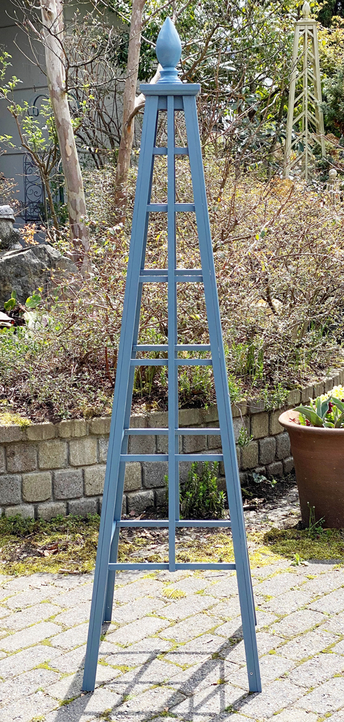 オベリスク ピラミッドタイプ 「シンプルロッド1」サイズ:WS(高さ150cm、幅41cm、奥行き41cm)