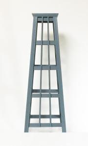 フラワースタンド オベリスクタイプ Tモデル  サイズM(高さ103cm,天面23cm角、底面37cm角)