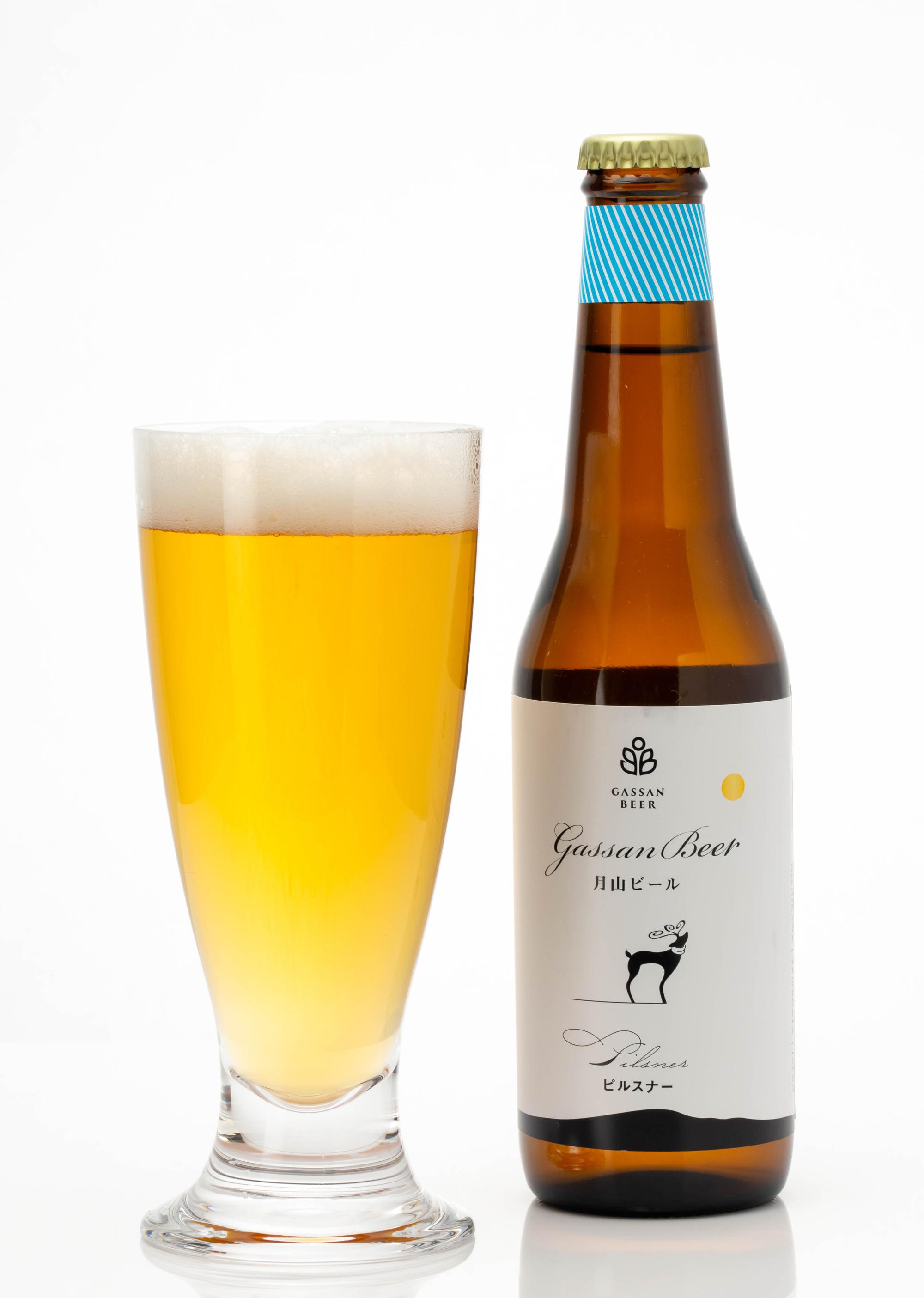 月山ビール ピルスナー330ml 6本詰