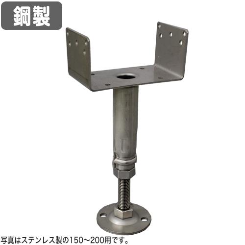 【コバッシャー】鋼製床束 ツカエース U型タイプ KU-100(100mm~150mm用)40個入[鋼製束 床柱]