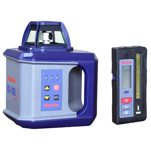 【5台限定特価】ホーシン  レーザーレベル  HS-110L/受光器100R/クランプ/三脚付