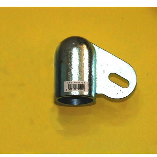 パイプハウス用接続金具 WS-4-2LR 片勾配右用【ジョイント工業】