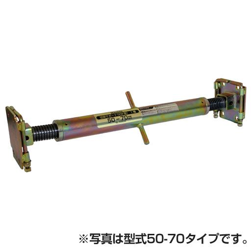 【特価】狭い開削工事に最適 切梁サポートKM型(125-160)【ホーシン】[両ネジタイプ 可動式] [土留工事用材][鋼製切梁サポート]