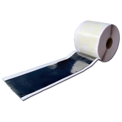 【送料無料】貼付型アスファルト補修材 クイックシール(W10cm*L15m*1巻)粘着防止剤付 クラフコ(USA)