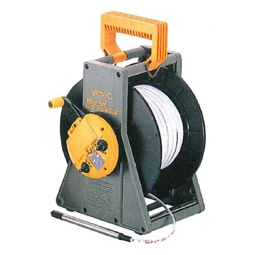 【送料無料】ミリオンロープ水位計 RWL-100M 100m ヤマヨ測定機 [測量][測定機器][温度計][測定器][水位計]