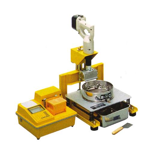 【送料無料】充電式 生コンふるい器 TZ-610 W360×D454×H620mm ケット [測量][測定機器][試験機][試験器][コンクリート試験機]